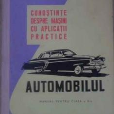 Cunostinte Despre Masini Cu Aplicatii Practice Automobilul Ma - V. Husea, T. Pavelescu, 388470