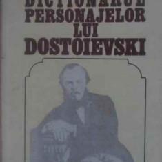 Dictionarul Personajelor Lui Dostoievski Vol.1 Personajele Ma - Valeriu Cristea, 388442 - Biografie