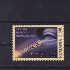 ROMANIA 2007, LP 1789, SPRIJIN PENTRU NEVAZATORI SERIE MNH - Timbre Romania, Nestampilat