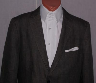 Sacou barbati H&M HM gri din in 100% marimea 50-52 foto