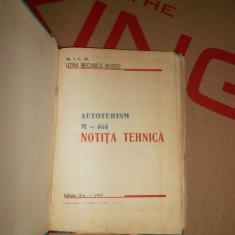 Autoturismul aro M-461, Notita tehnica-1965-raritate