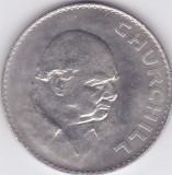 Moneda Marea Britanie 1 Crown 1965 - KM#910 UNC ( Sir Winston Churchill ), Europa