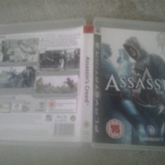 Assassin's Creed -PS3 - Playstation 3 - Jocuri PS3, Actiune, 16+, Single player