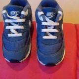 Nike Air Max originali, nr.25-14 cm. - Adidasi copii Nike, Culoare: Bleumarin, Unisex, Textil