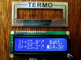 Termometru Auto + Voltmetru Profesional