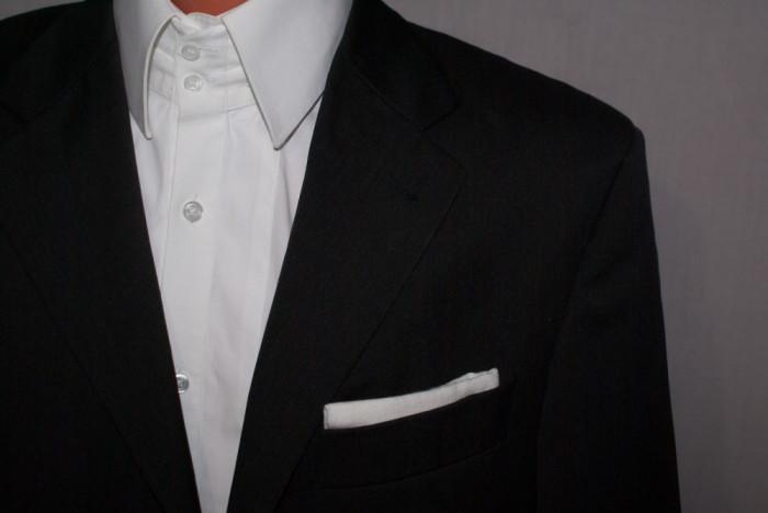 Sacou barbati YSL YVES SAINT LAURENT negru marimea 46 - 48 foto mare