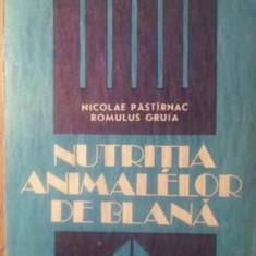 Nutritia Animalelor De Blana - Nicolae Pastarnac, Romulus Gruia, 388312 - Carti Agronomie