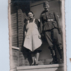 WW2-fotografie militara-poza Germania, format mic 7x11cm..18 - Fotografie veche