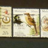 Lot 3 timbre circulate Natura - Flori - Plante MALAYSIA 2+1 gratis RBK20333 - Timbre straine, Stampilat