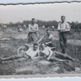 WW2-fotografie militara-poza Germania, format mic 6x9cm..04 - Fotografie veche
