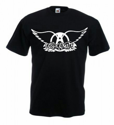 Tricou AEROSMITH,M, Tricou personalizat,Tricou cadou,Rock foto