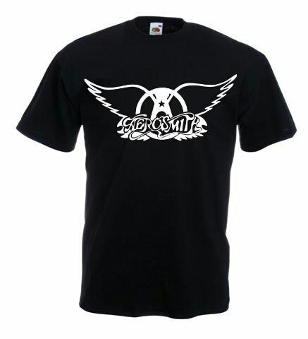 Tricou AEROSMITH,M, Tricou personalizat,Tricou cadou,Rock foto mare