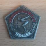 Medalie argint-Campionatul R.P.R. de inot loc2 - Insigna, Romania 1900 - 1950