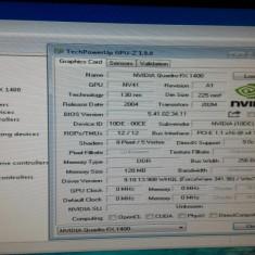 Vand LOT 5 placi video Nvidia Quadro la 100lei - Placa video PC NVIDIA, PCI Express