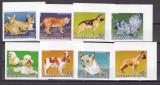 Guineea  1985  fauna  caini pisici  MI 1050-57B  MNH  w40, Nestampilat