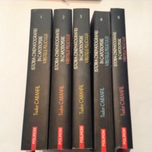 Istoria Cinematografiei In Capodopere Virstele Peliculei Vol.1-5 Tudor Caranfil
