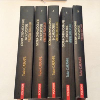 Istoria Cinematografiei In Capodopere Virstele Peliculei Vol.1-5 Tudor Caranfil foto