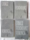 """""""URMUZ Pagini Bizare * FUNDOIANU Versuri * VORONCA Versuri"""", 3 vol. in toc, 1999, Alta editura"""