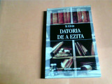 DATORIA DE A EZITA -B. ELVIN