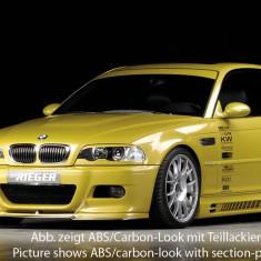 Matrita fibra de sticla bara fata RIEGER pt BMW E46 M3 look - Bara Fata Tuning