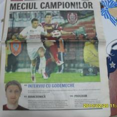 Supliment-program CFR Cluj - FCM Tg. Mures - Program meci