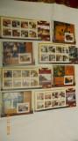 timbre   guinea  PICTURI  set 20 colite si 20 blocuri 2009          520  euro