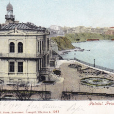 CONSTANTA   PALATUL  PRINTULUI  STURZA  CLASICA CIRC. 1907 ED. AD. MAIER & STERN, Circulata, Printata