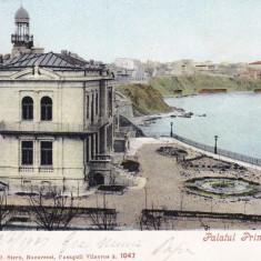 CONSTANTA PALATUL PRINTULUI STURZA CLASICA CIRC. 1907 ED. AD. MAIER & STERN - Carte Postala Dobrogea pana la 1904, Circulata, Printata