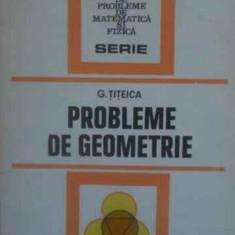 Probleme De Geometrie - G. Titeica ,388864