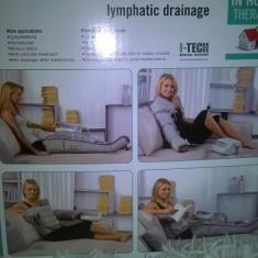 Aparat drenaj limfatic - Relax & tone