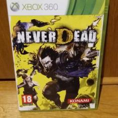 Joc XBOX 360 Never dead original PAL / by WADDER - Jocuri Xbox 360, Actiune, 18+, Single player