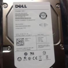Harddisk SAS Dell, 600Gb, 6Gb/s, ca nou, nu cred ca a fost folosit!