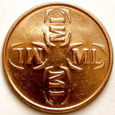 Jeton Malmö Lokaltrafik, L Pollett SUEDIA - Jetoane numismatica, An: 1970