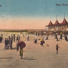 CONSTANTA BAILE MAMAIA SI PLAJA CIRCULATA 1929 EDITURA G. T. CONSTANTA - Carte Postala Dobrogea dupa 1918, Printata