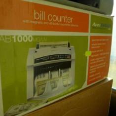 Numarat bani Cash Counter AccuBanker AB-1000 MG/UV Digital Bill Counter 110v SUA - Masina de numarat bani