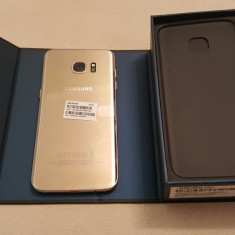 Samsung Galaxy S7 Edge 32GB - Telefon Samsung, Auriu, Neblocat, Single SIM