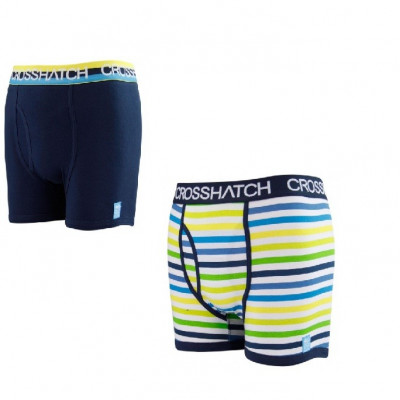 Boxeri CrossHatch 2 buc/set -super calitate-S-M-L foto
