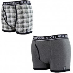 Boxeri CrossHatch 2 buc/set -super calitate-S-M-L, Din imagine, XL