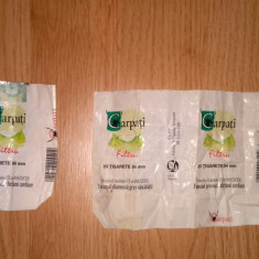 Ambalaj pachet de tigari Carpati Original - Rar - Pachet tigari