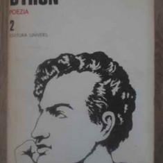 Poezia 2 - Byron, 388799 - Carte poezie