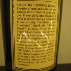 Brandy Stock RISERVA ROYAL, italy, cl 75, gr. 40 ani 70 sticla 383454 - Cognac