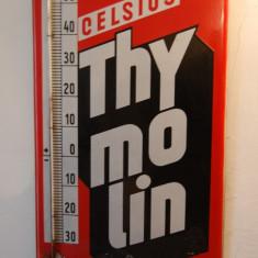 TERMOMETRU RECLAMA VINTAGE - THYMOLIN