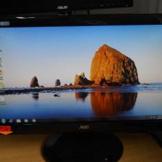 Monitor LED AOC E936SWA, wide, 19 inch, 5 ms, USB., VGA (D-SUB), 1366 x 768
