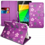 HUSA BOOK WALLET PTR. ASUS GOOGLE NEXUS 7(2ND GENERATION 2013)+Folie+Pen GRATIS