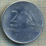 8110 MONEDA- INDIA - 2 RUPEES -anul 2009 -starea ce se vede, Asia