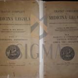 MINA MINOVICI - TRATAT COMPLECT DE MEDICINA LEGALA, 2 VOL, 1928