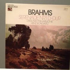 BRAHMS - SERENADE NR 1 cu DRESDNER PHILHARMONIE (1972/EMI/RFG) - Vinil/Impecabil - Muzica Clasica emi records