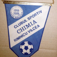 FANION FOTBAL - CS CHIMIA RAMNICU VALCEA 1915 -1973
