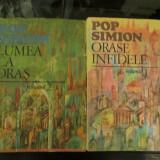 Pop Simion - 2 vol - Orase infidele + Lumea ca Oras - Roman