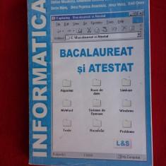 INFORMATICA - BACALAUREAT SI ATESTAT, S. NICULESCU -E. CERCHEZ